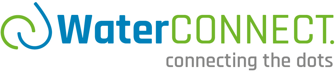 WaterCONNECT logo incl. payoff